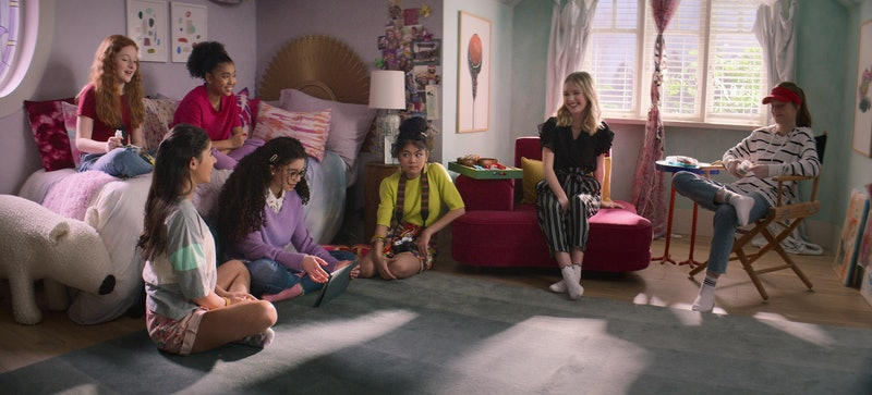 Vivian Watson as Mallory Pike, Kyndra Sanchez as Dawn Schafer, Anais Lee as Jessi Ramsey, Malia Bake...