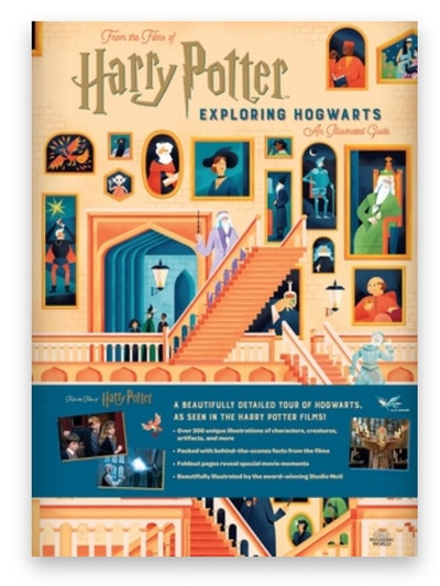 Cover art for 'Harry Potter: Exploring Hogwarts: An Illustrated Guide'