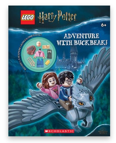 Cover art for ' Adventure with Buckbeak! (Lego Harry Potter: Activity Book with Minifigure)'