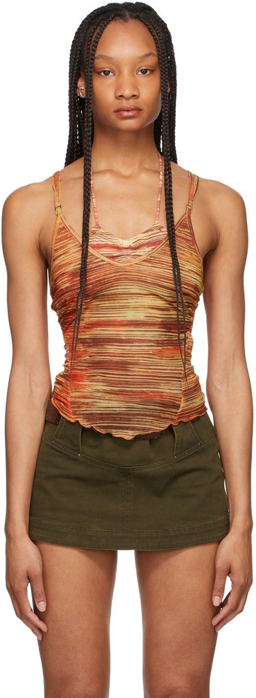 Red Halcyon Tank Top