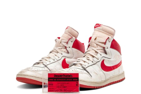 Michael Jordan Air Ship Game-Worn Auction Sotheby's