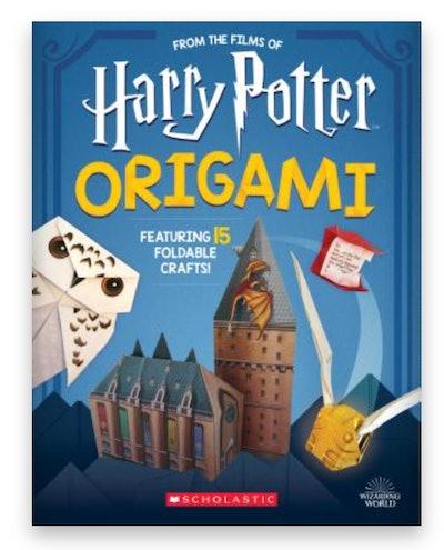 Cover art for 'Harry Potter Origami Volume 1'