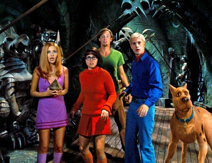 Each member of the Scooby-Do gang makes for a perfect '70s Halloween costume