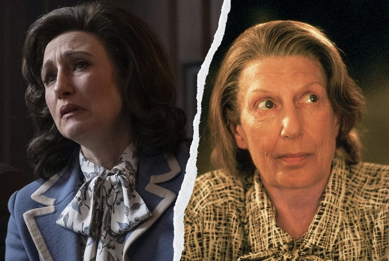 Livia Soprano, played by Vera Farmiga and Nancy Marchand.