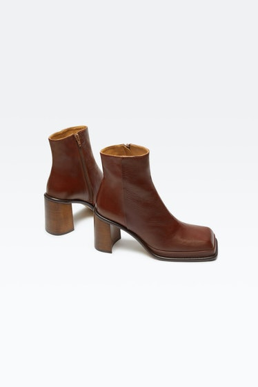 Callie Brown Ankle Boots