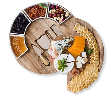 Cheese Board Set - Charcuterie Board Set and Cheese Serving Platter