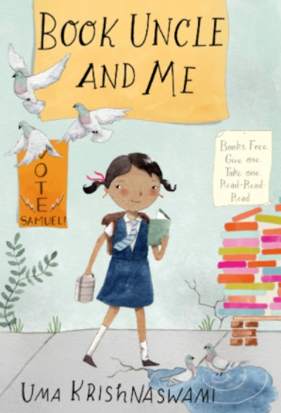 'Book Uncle And Me' written by Uma Krishnaswami and illustrated by Julianna Swaney