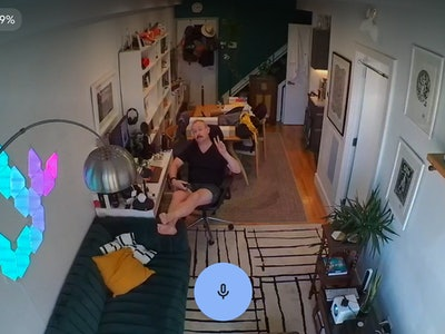 Google Nest Cam with battery example footage