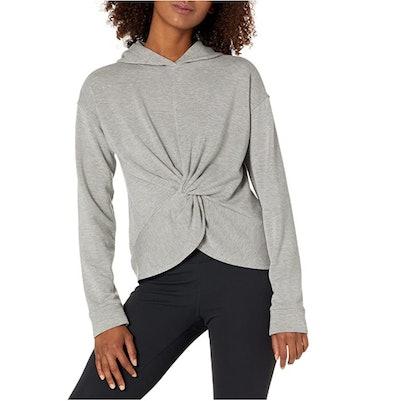 Core 10 Women's Corecloud Fleece Twist Front Hoodie Sweatshirt