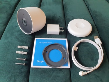 Google Nest Cam with battery