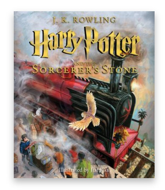 Cover art for 'Harry Potter and the Sorcerer's Stone: The Illustrated Edition'