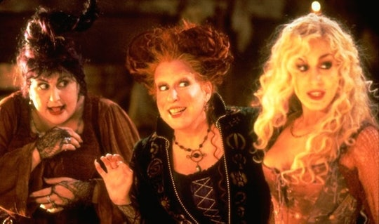Mary, Winifred, and Sarah Sanderson in Hocus Pocus.