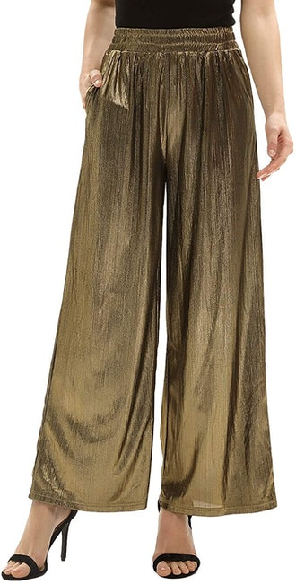 GRACE KARIN Loose Elastic Wide Leg Pants