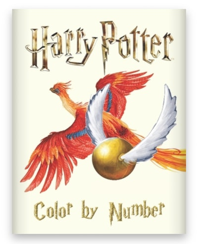 Cover art for 'Harry Potter Color by Number Coloring Book for Kids'