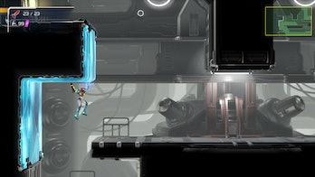 metroid dread gameplay screenshot