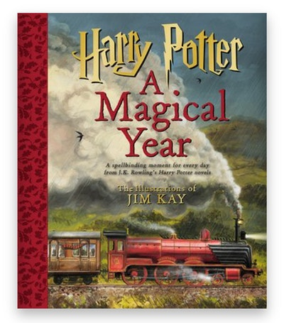 Cover art for 'Harry Potter: A Magical Year'