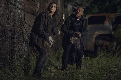 Leah could kill Maggie's group on 'The Walking Dead.' Photo via AMC