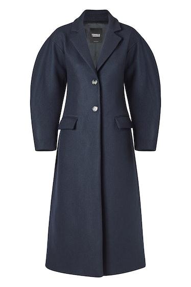Buttoned Wool Coat Pernille x Mango