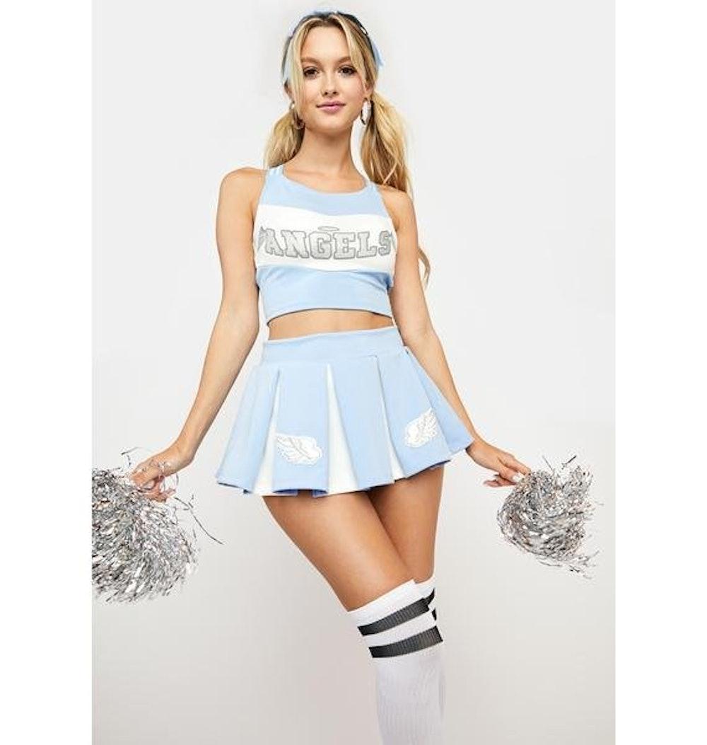 Trickz N' Treatz Heaven's Cheerleader Costume Set
