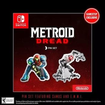 metrod dread exclusive pins