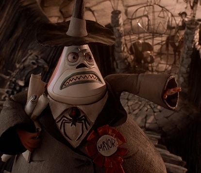 The Mayor from Nightmare Before Christmas.
