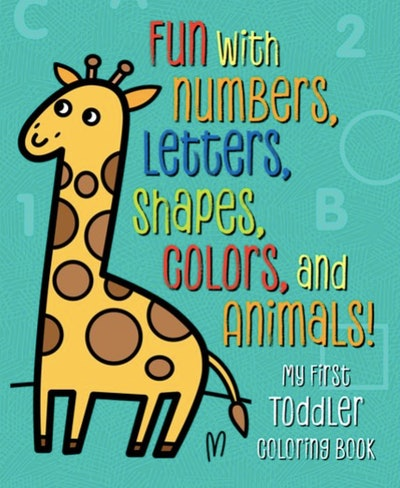 Coloring and activity book for toddlers