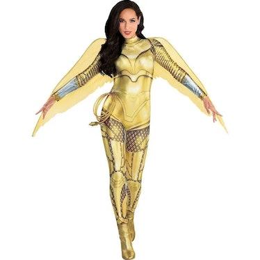 Adult Gold Armor Wonder Woman Costume - WW 1984