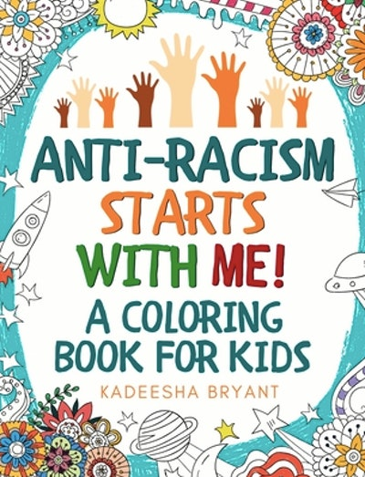 An anti-racist coloring book