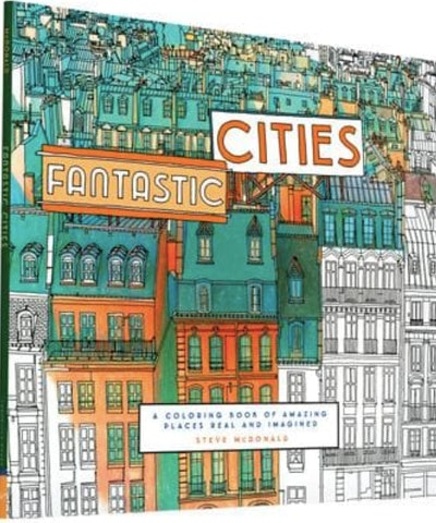 Book of cityscape illustrations