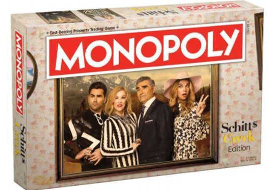 'Schitt's Creek' Monopoly looks like a blast.