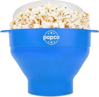 Popco Original Silicone Microwave Popcorn Popper