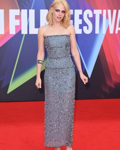 Kristen Stewart wears Chanel at London Film Festival 2021.