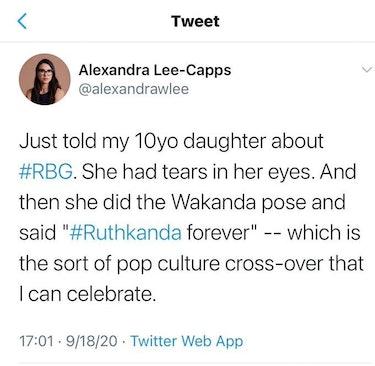 Ruthkanda forever tweet