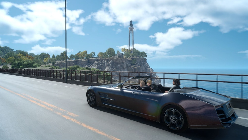 Final Fantasy XV inspired Sable