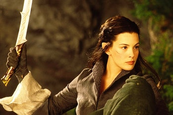 Liv Tyler as Arwen in The Lord of the Rings: The Fellowship of the Ring