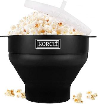 Korcci Original Microwaveable Silicone Popcorn Popper