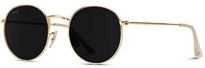 WearMe Pro Reflective Lens Round Sunglasses