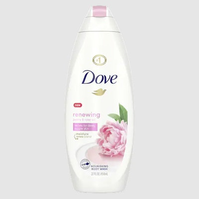 Renewing Body Wash with Peony and Rose Oil