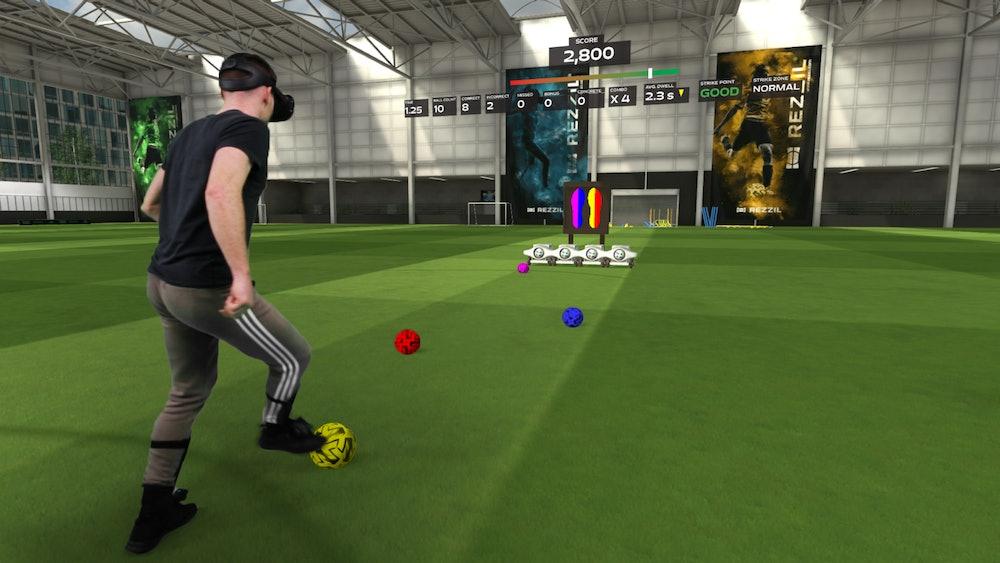Player 22 Soccer Training