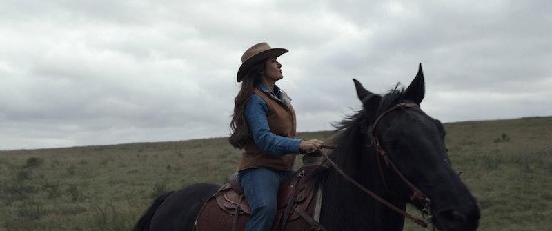 Salma Hayek plays Ajak in 'Eternals.' Photo via Marvel Studios