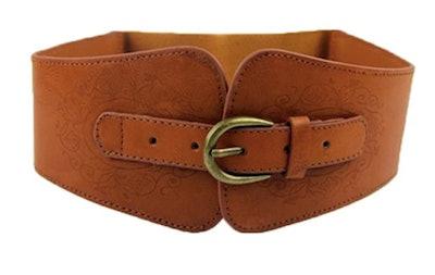 Brown Corset Belt