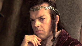 Hugo Weaving as Elrond in the Lord of the Rings film trilogy