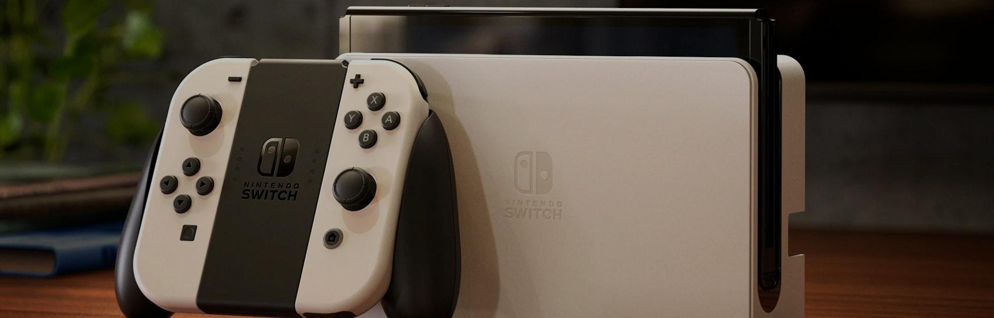 Nintendo Switch OLED model Joy-Con drift issues
