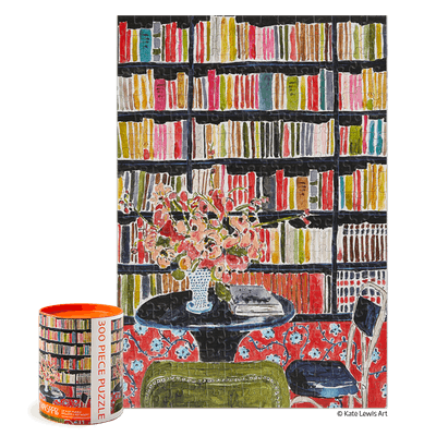 Books with Flowers Puzzle