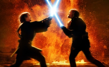 Obi-Wan Kenobi Anakin Skywalker lightsaber duel leak disney+