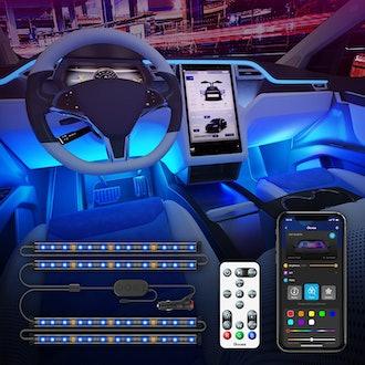 Govee Interior Car Lights With Remote Control