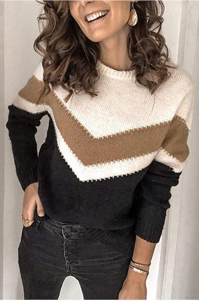 ANCAPELION Pullover Sweater