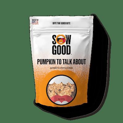 Pumpkin To Talk About Pumpkin & Cherry Granola