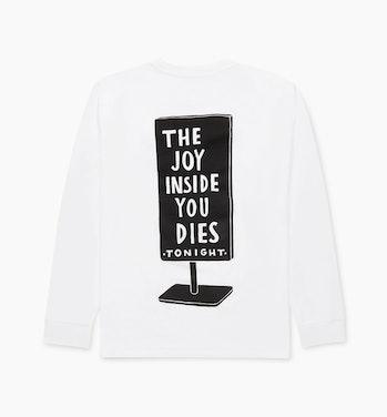 Parra Joy Inside Long Sleeve T-Shirt