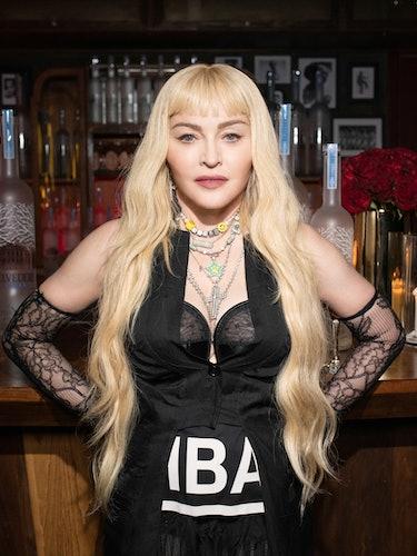 Madonna in HBA.